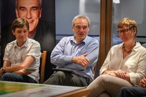 Ludwig Hoegner, Florian Ritter und Katja Weitzel