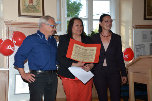 Roland Fischer, Graciela Cammerer und Claudia Tausend