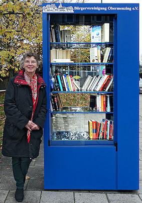 Angela Scheibe-Jaeger - Bücherschrank
